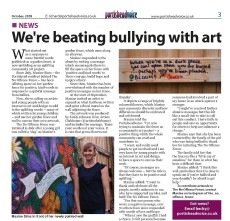 We're beating bullying with art - Portisheadvoice October 2018