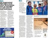 An inspiration! Bill fights back after devastating loss of eyesight to take part in half-marathon - Filtonvoice March 2015