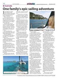 One family's epic sailing adventure - Portisheadvoice November 2018